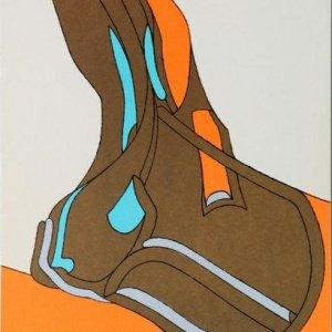 Herve Telemaque, Original lithograph, Ediciones Poligrafa 1979