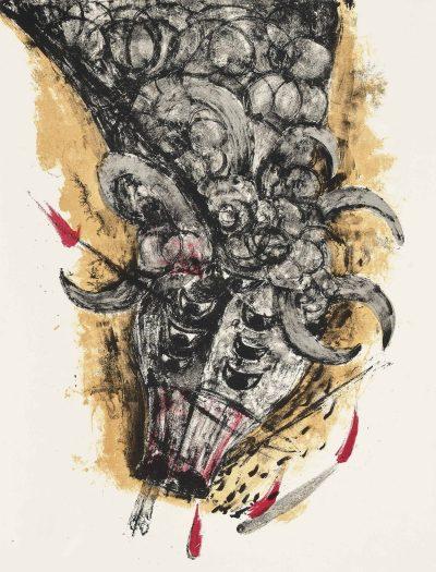 Rufino Tamayo, Original Lithograph 2, Apocalypse of Saint John