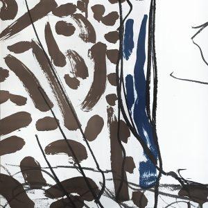 Riopelle Lithograph, DM09208, Derriere le Miroir 1970