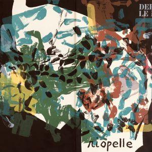 Riopelle, Original Lithograph, DM10171d, Derriere le Miroir 1968