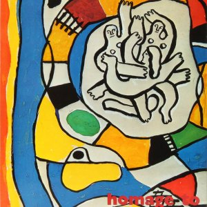Book Homage to Fernand Leger, XX Siecle 1971 Contains 1 Original Lithograph