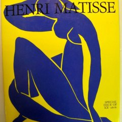 Book Homage to Matisse, XXeme siecle + 1  Linoleum Engraving