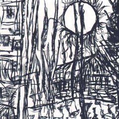 Book DLM 232 Published 1979 Riopelle 12 Original Lithographs