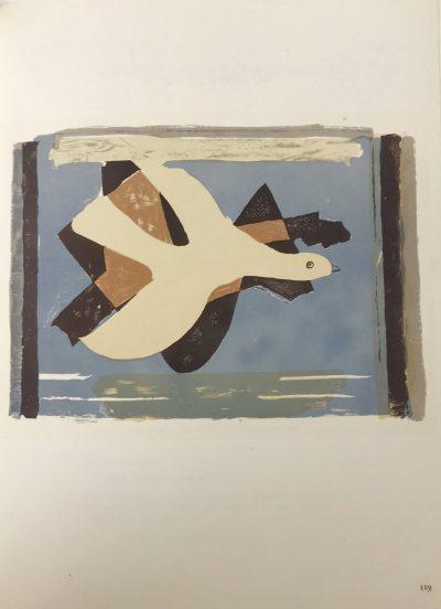 Braque Lithograph l oiseau et son ombre