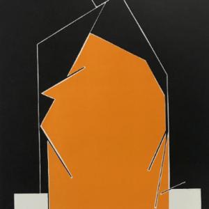 Pablo Palazuelo, Lithograph, DM06184, Derriere le Miroir 1970