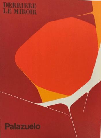 Pablo Palazuelo, Original Lithograph, DM01184, Derriere le Miroir 1970