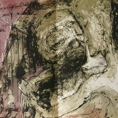 """Pierre Parsus Original Lithograph 1974 """"La fille a cent sous"""""""