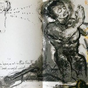 """Pierre Parsus Original Lithograph """"le mecreant"""""""