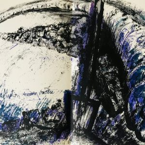 """Pierre Parsus Original Lithograph """"Pauvre martin"""""""