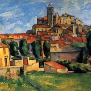 paul Cezanne, Gardanne, giclee