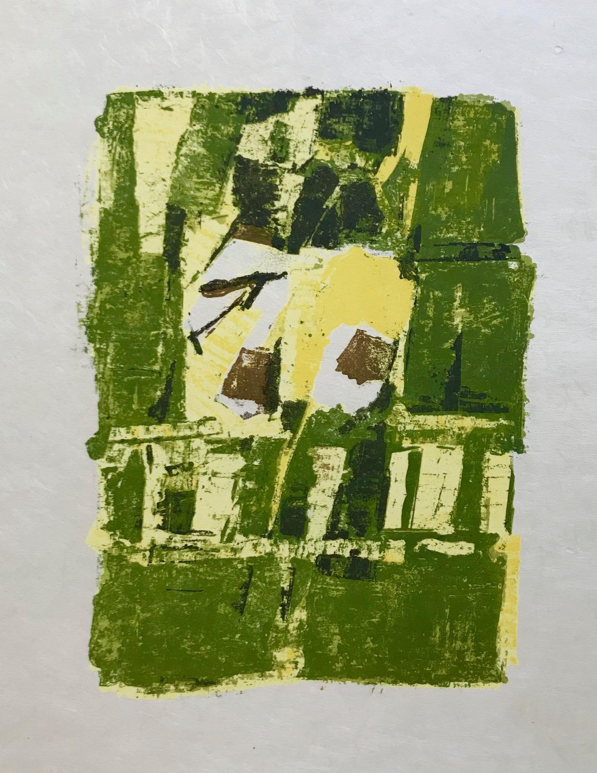 """Orlando Pelayo """"13"""" Original Lithograph 1962, Mourlot"""