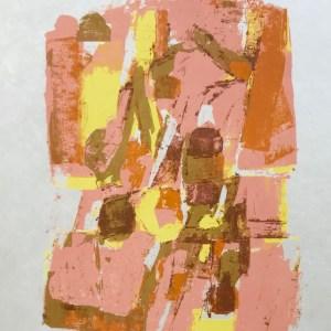 """Orlando Pelayo """"15"""" Original Lithograph 1962, Mourlot"""