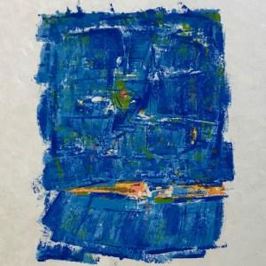 """Orlando Pelayo """"2"""" Original Lithograph 1962, Mourlot"""
