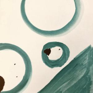 Tal-Coat Lithograph DM01153f, Derriere le miroir 1965