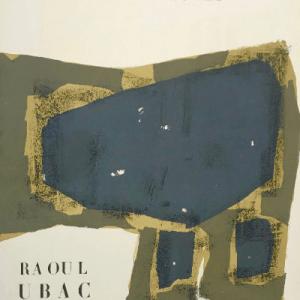 Ubac, Original lithograph DM0174, DLM 1955