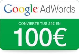 Cupón Adwords 100 euros
