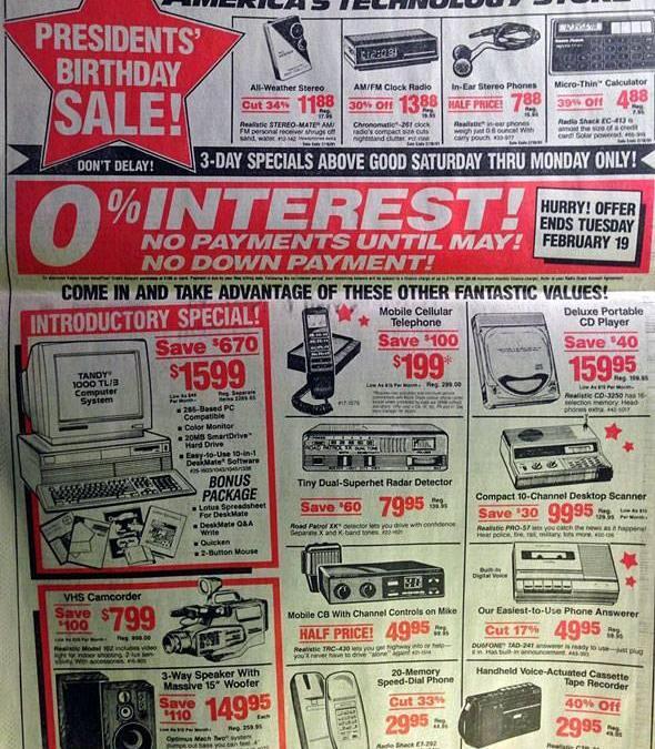 Todo lo que lleva tu smartphone comparado con 1991