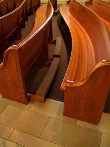 Church Old St Patricks Kneelers