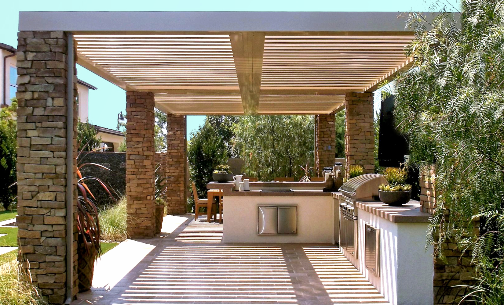 Patio Covers & Enclosures - Artechroofing on Backyard Patio Cover Ideas  id=65999