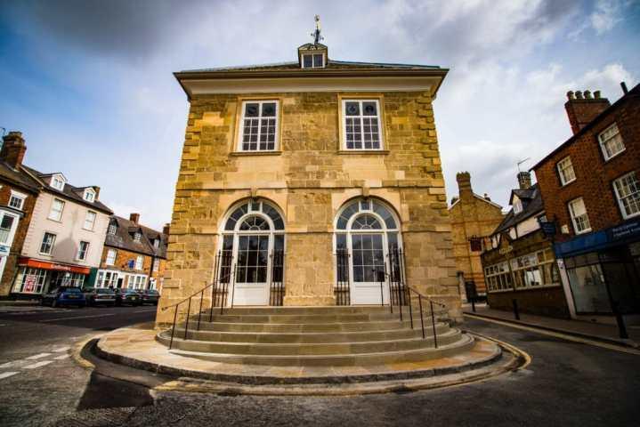 Brackley Town Hall Southern Steps