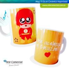 Mug Me Aceleras El Corazón_logo