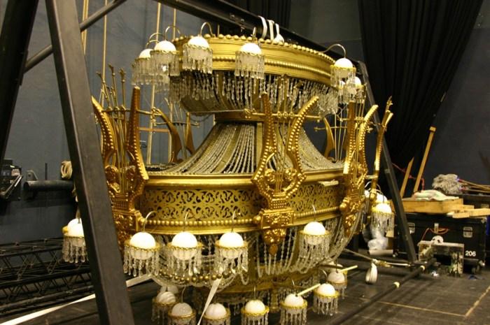 chandelier lampara fantasma de la opera