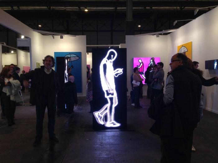 Julian Opie-pantallas-smartphone-ARCO 2015