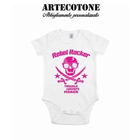 Body rebel rocker organic cotton