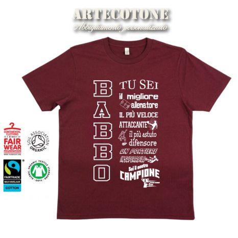 T-shirt Babbo campione