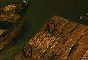 Painting A Wooden Plank