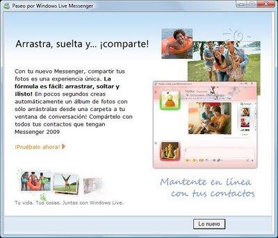 Compartir Fotos e Imágenes en MSN