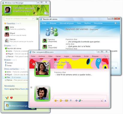 Compartir Imágenes Live Messenger