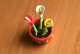 manualidades-flores-con--plastilina