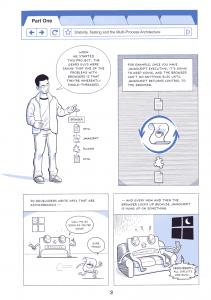 Google browser comic book