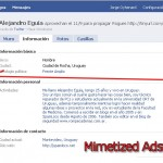 Facebook mimetized Ads