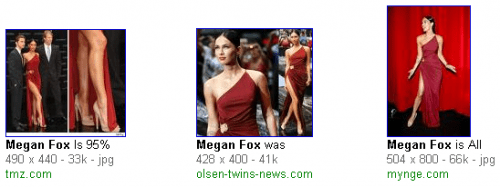 Megan Fox de Rojo
