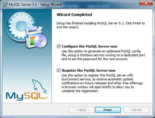 Configuración de MySQL