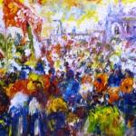 Canepari Primo - Manifestazione a Schivenoglia