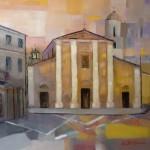 Rigatelli Aurora - La chiesa di Schivenoglia