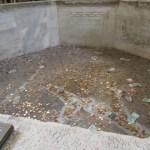 Battistero Neoniano - fonte battesimale