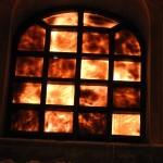Basilica di San Vitale - finestra in alabastro
