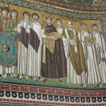 Basilica di San Vitale - Giustiniano imperatore