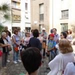 S. Apollinare nuovo - il gruppo ascolta la guida