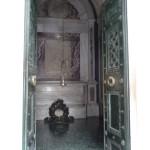 La tomba di Dante - interno