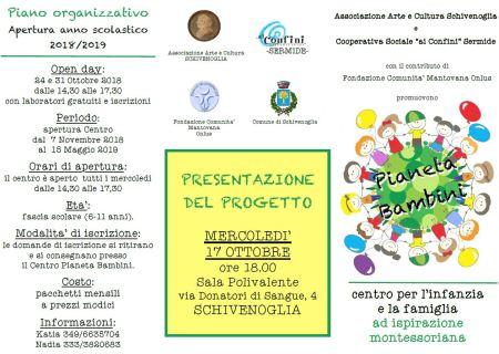 Pianeta Bambini - Corso Montessori