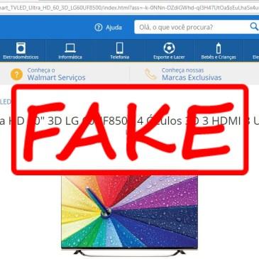 Sites Falsos – Cuidado!