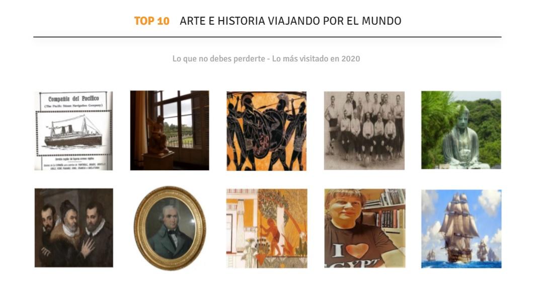 TOP 10 ARTE E HISTORIA VIAJANDO POR EL MUNDO