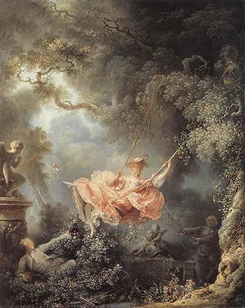 El Columpio, de Fragonard