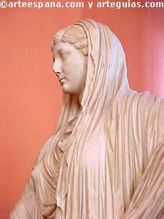 Emperatriz Livia. Escultura romana del siglo I