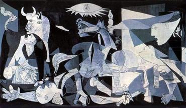 Pintura Cubista. Guernica de Picasso